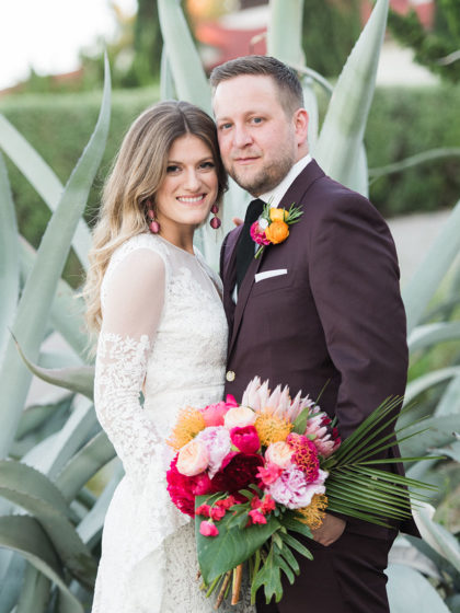 Amy Grest And Ryan Frederick S Tropical Outdoor Dfw
