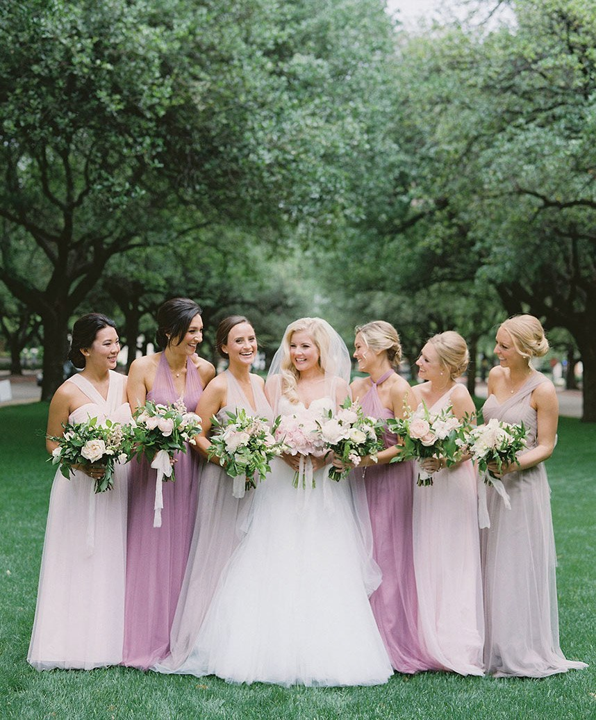 Statement making wedding fashion trends of 2017 stephanie brazzle photography the bridal salon at neiman marcus something pretty floral ombrellifo Image collections