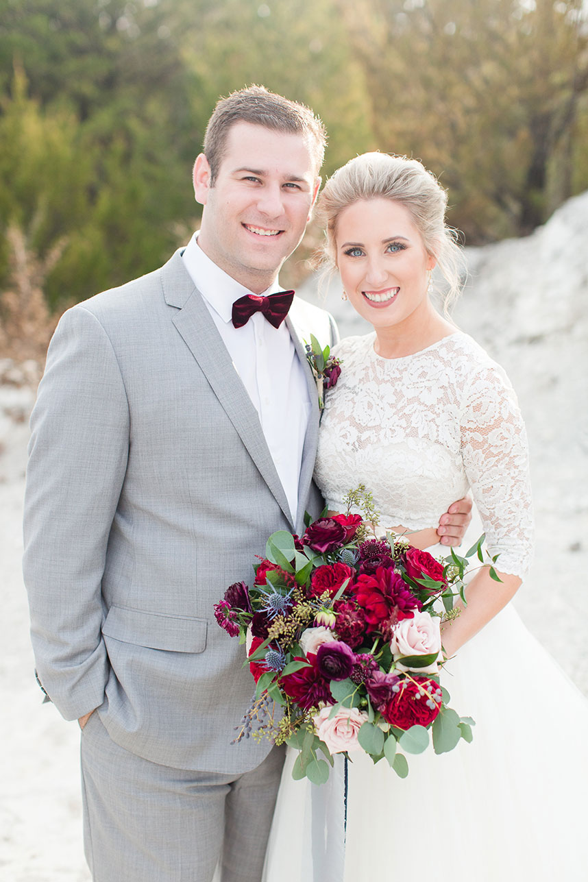 Classic Winter Wedding Captured by Meggie Taylor Photography