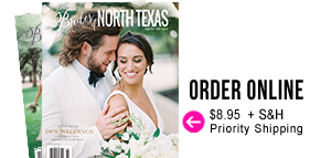 Order the New Spring Summer 2018 issue of Brides of North Texas