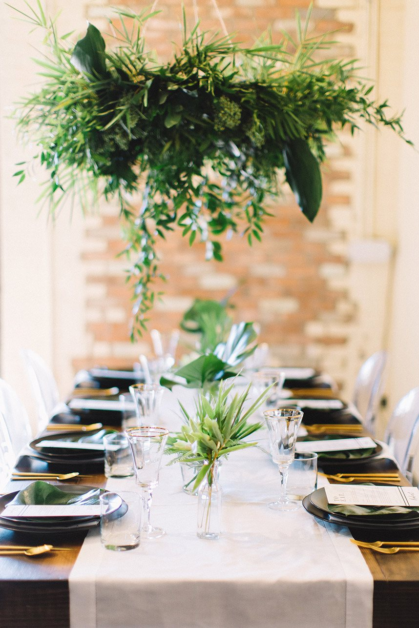 Black And White Tropical Wedding Inspiration From Jen Rios