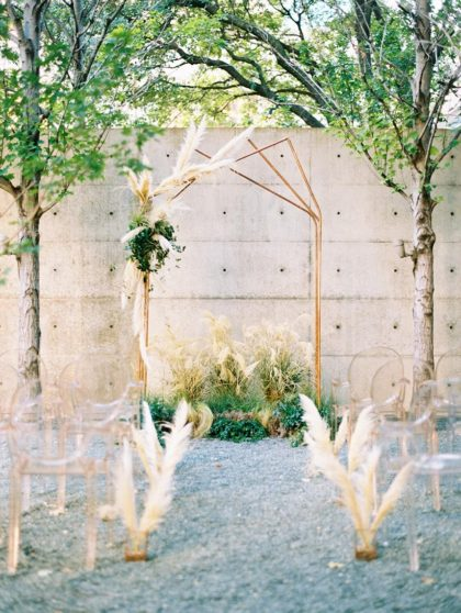 Modern Organic Wedding Inspiration from Lindsey Zamora Events