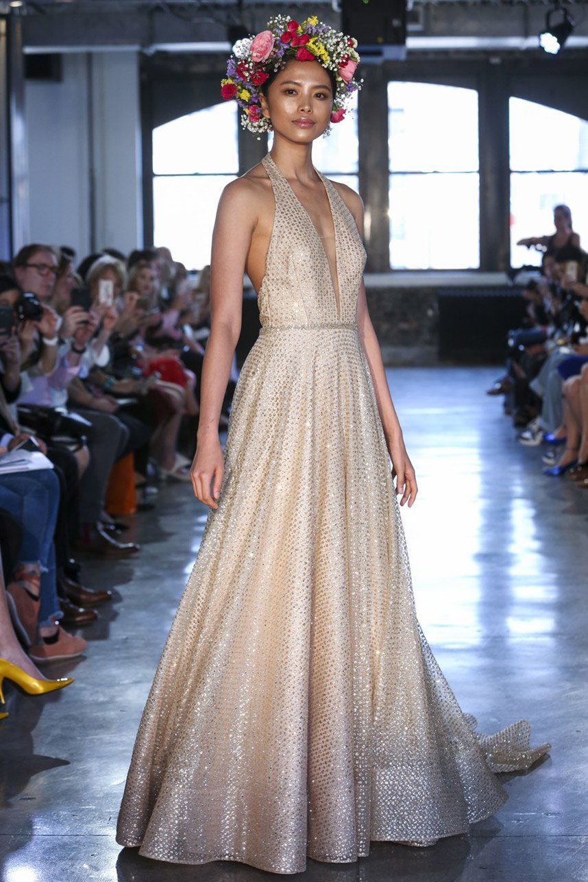 Top Trends From New York Spring Summer 2019 Bridal Fashion Week