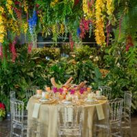 Exotic Tropical Inspired Table Setting from House of Tales Events