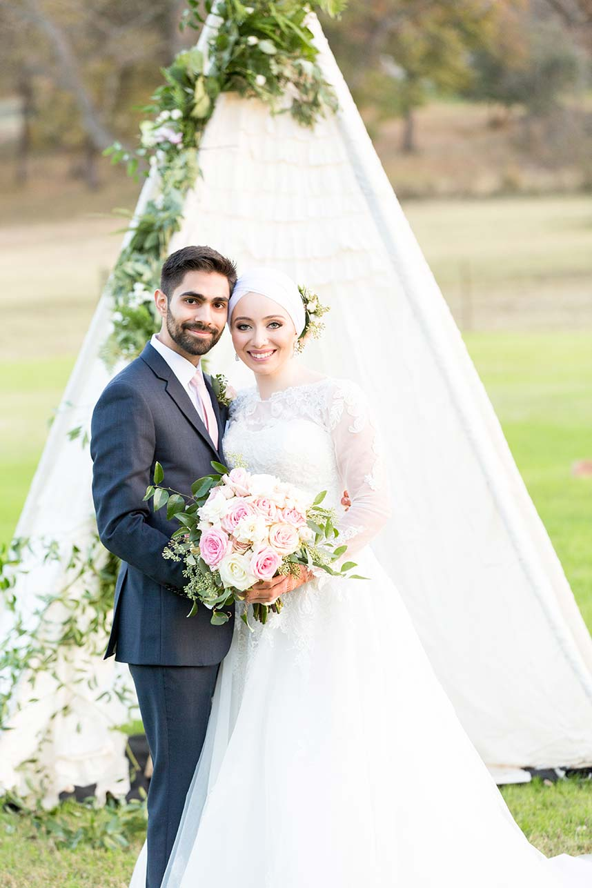 Mena Yamany Weds Shehryar Siddiqui Rustic Bejeweled Garden Wedding by House of Tales Events