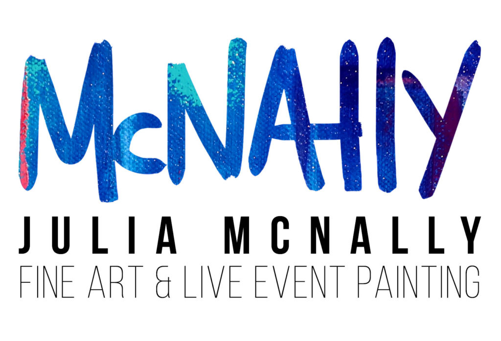 Julia McNally Fine Art & Live Event Painting - North Texas Wedding This + That