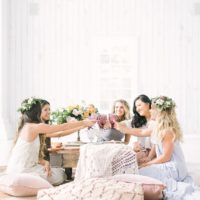 Bohemian Bridal Brunch Inspiration from Olive and Nine