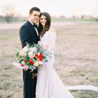Brittany Armstrong Weds Carlos Peña Romantic Wedding at The Nest at Ruth Farms