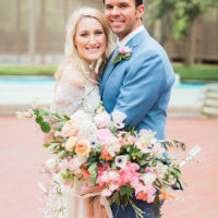 Katelynn Badger Weds Justin Hernandez Organic Spanish Inspired North Texas Wedding from Jen Rios Weddings