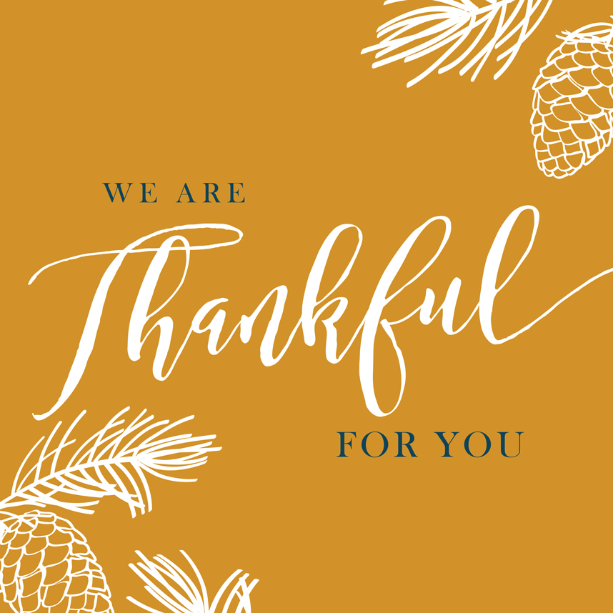 Happy Thanksgiving from Brides of North Texas!