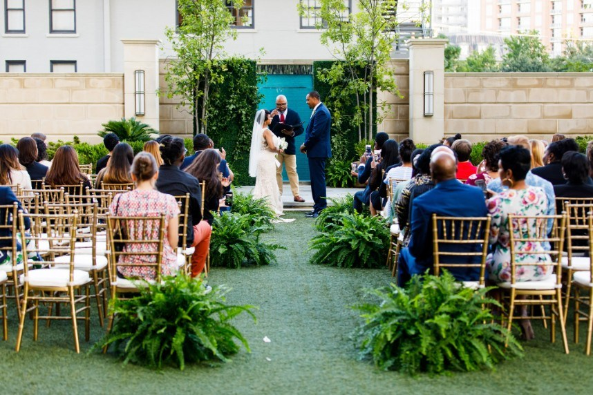 Fall Floral-Filled Surprise Wedding at The Stoneleigh