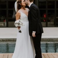 Tiffany Drapkin Weds Lucas Laird Modern North Texas Wedding from Jacque Manaugh Photography