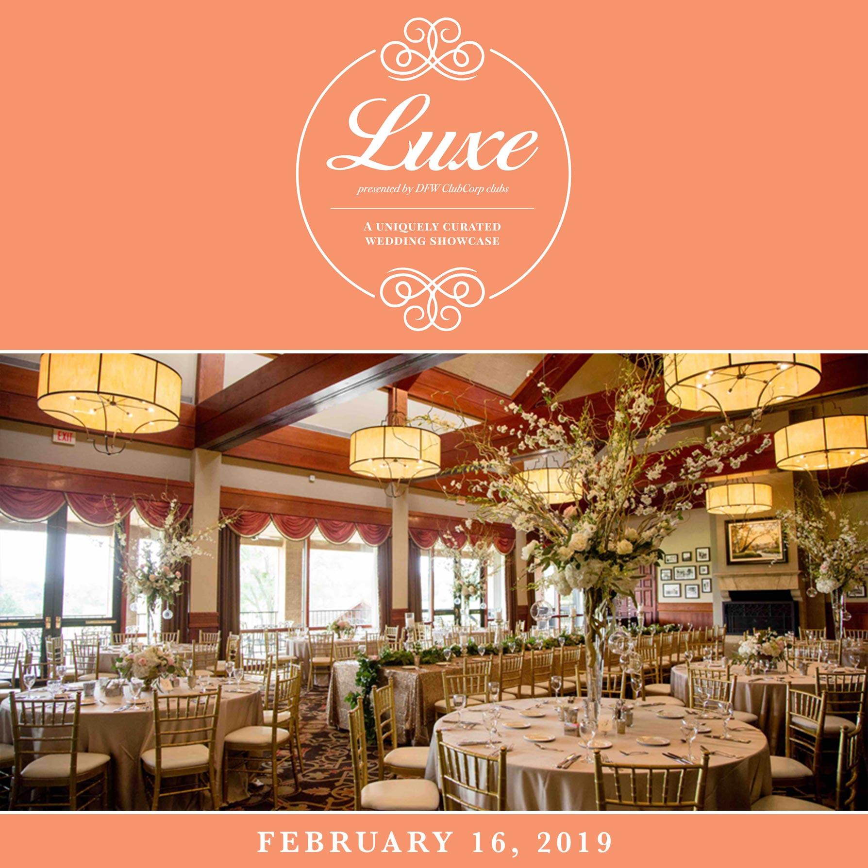 Tour DFW's Finest Country Clubs at Club Corp's Luxe Wedding Showcase!