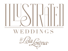 Illustrated Weddings by Lola Lorena - North Texas Wedding This + That
