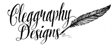 Cleggraphy Designs Calligraphy, Invitations